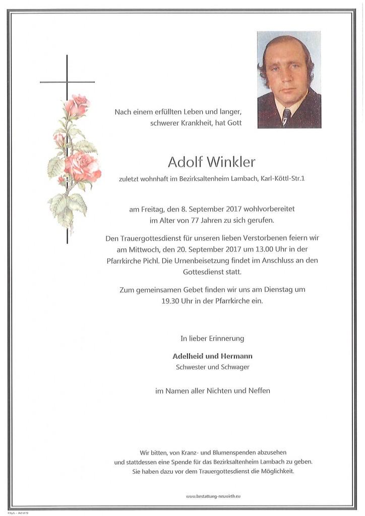 Adolf Winkler