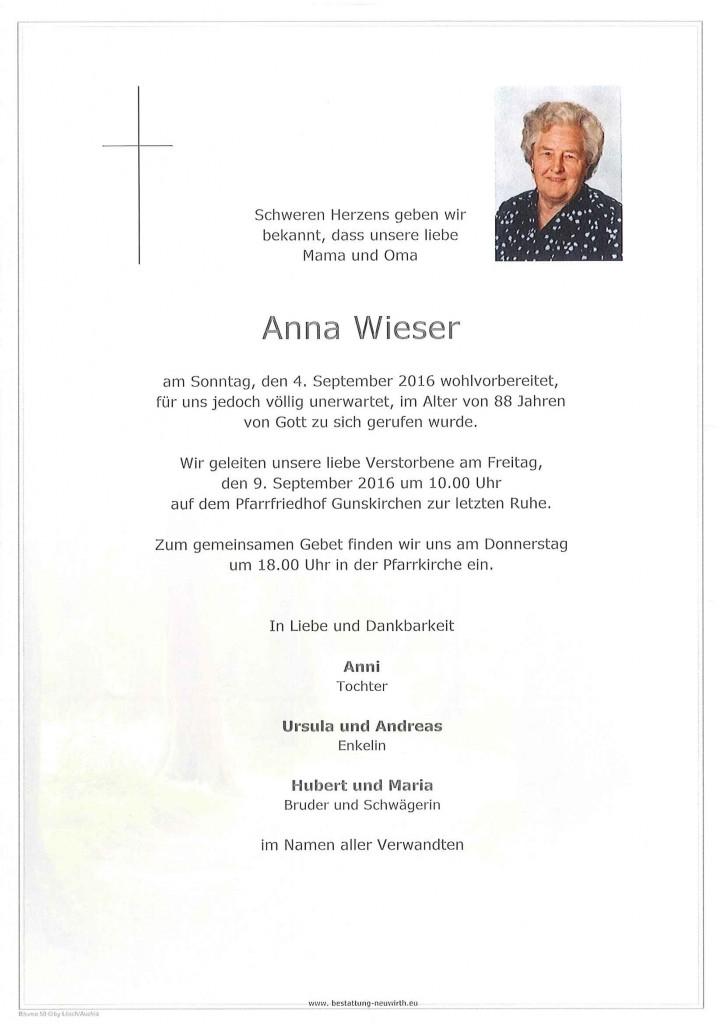 Anna Wieser
