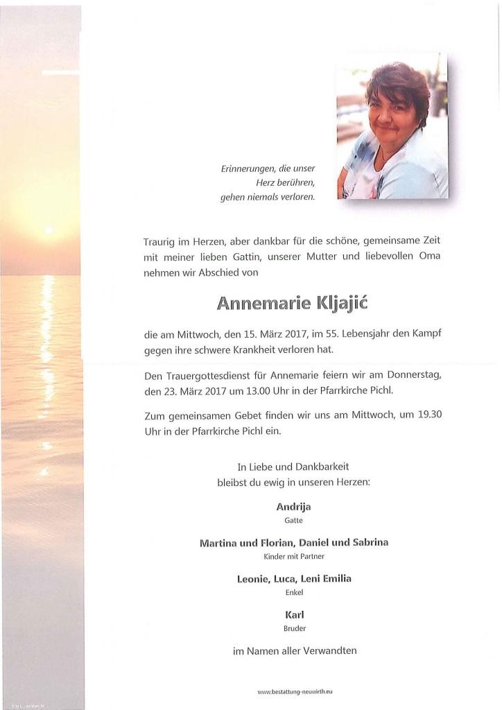 Annemarie Kljajic
