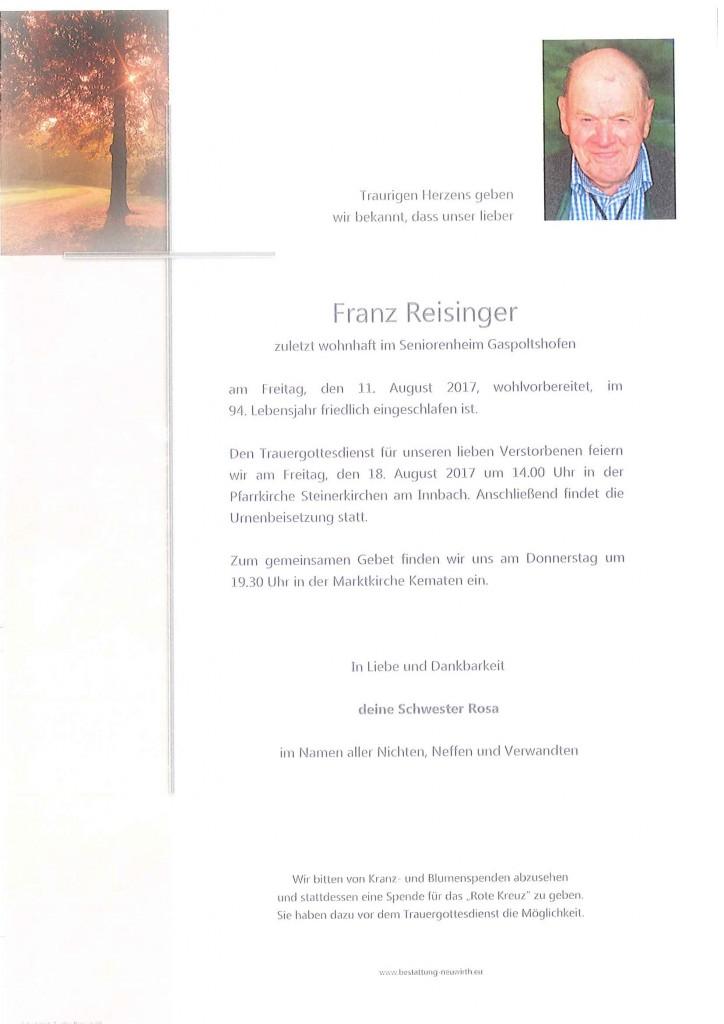 Franz Reisinger