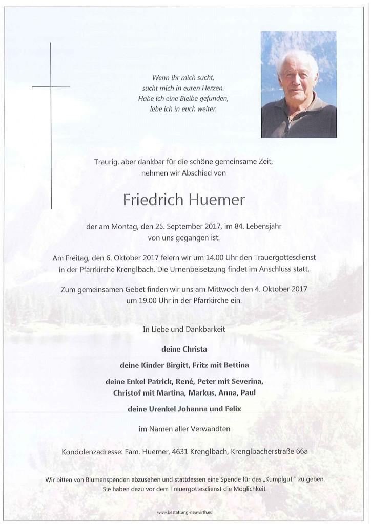 Friedrich Huemer