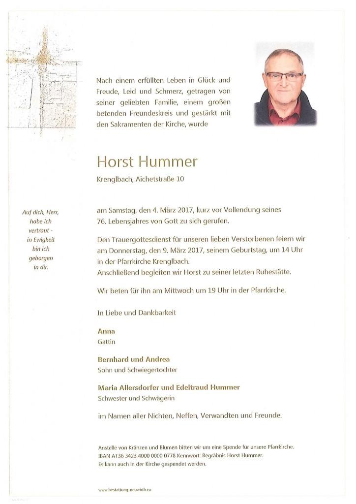 Horst Hummer