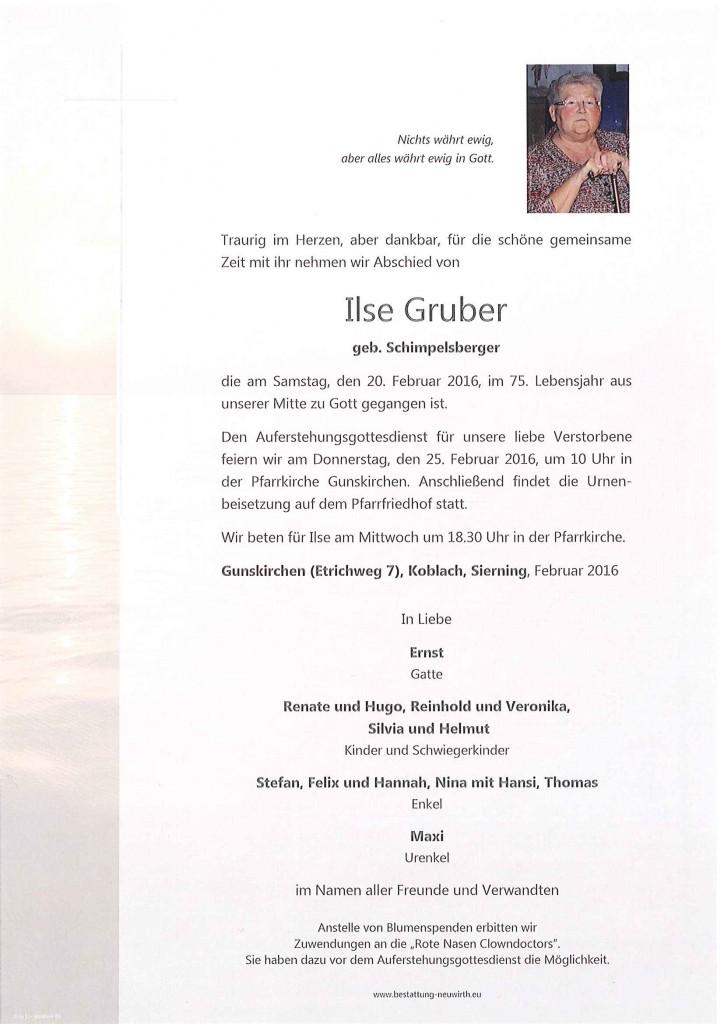 Ilse Gruber