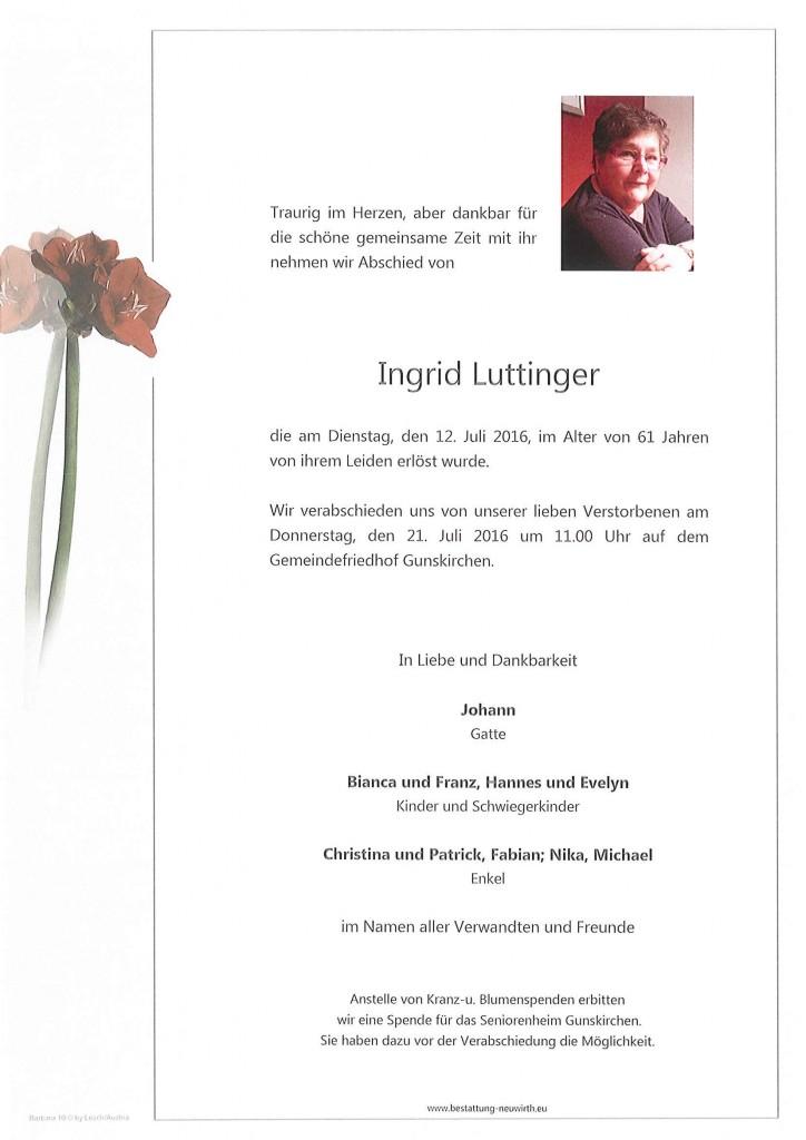 Ingrid Luttinger