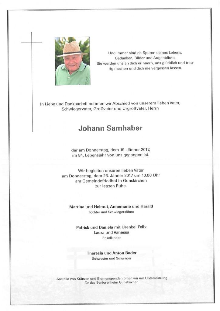 Johann Samhaber