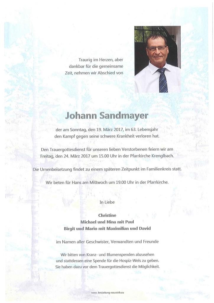 Johann Sandmayer