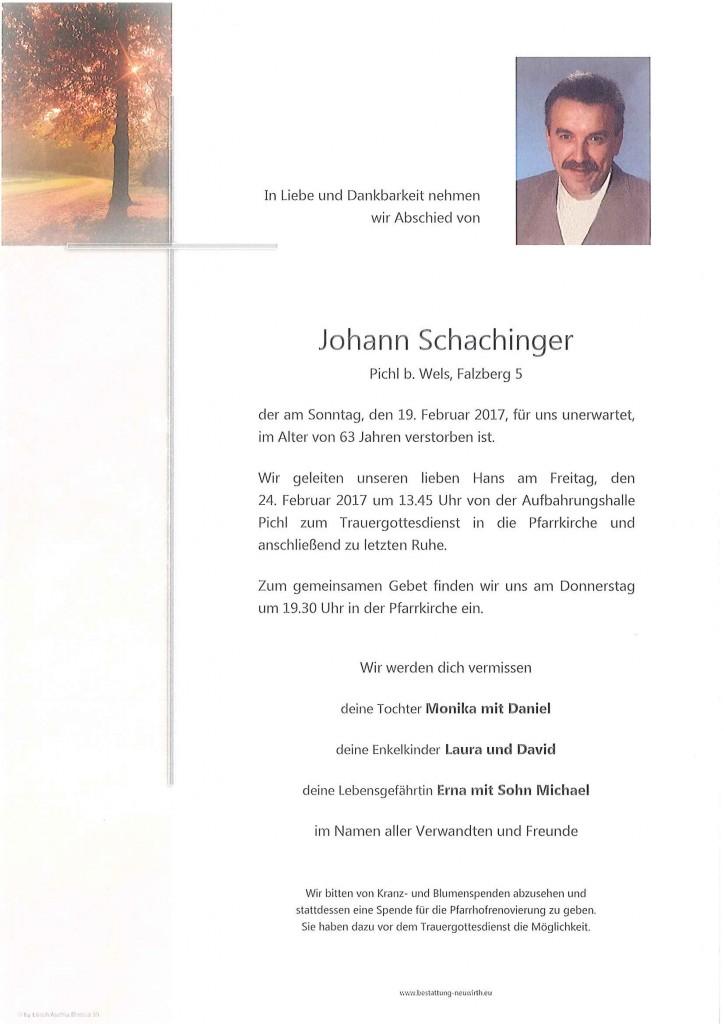 Johann Schachinger