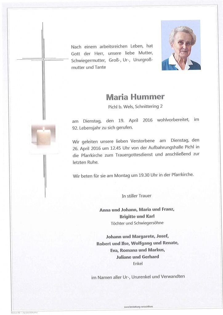 Maria Hummer