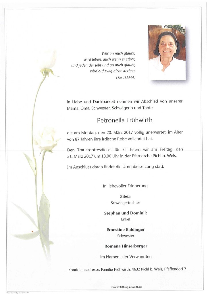 Petronella Frühwirth
