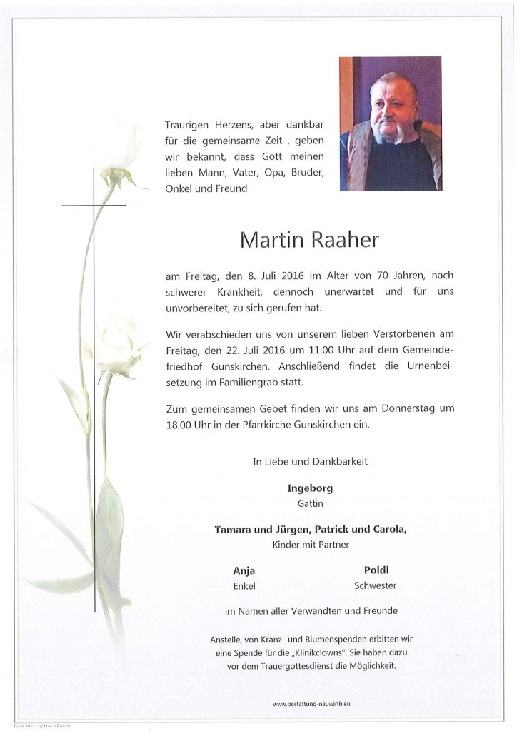 Raaher Martin