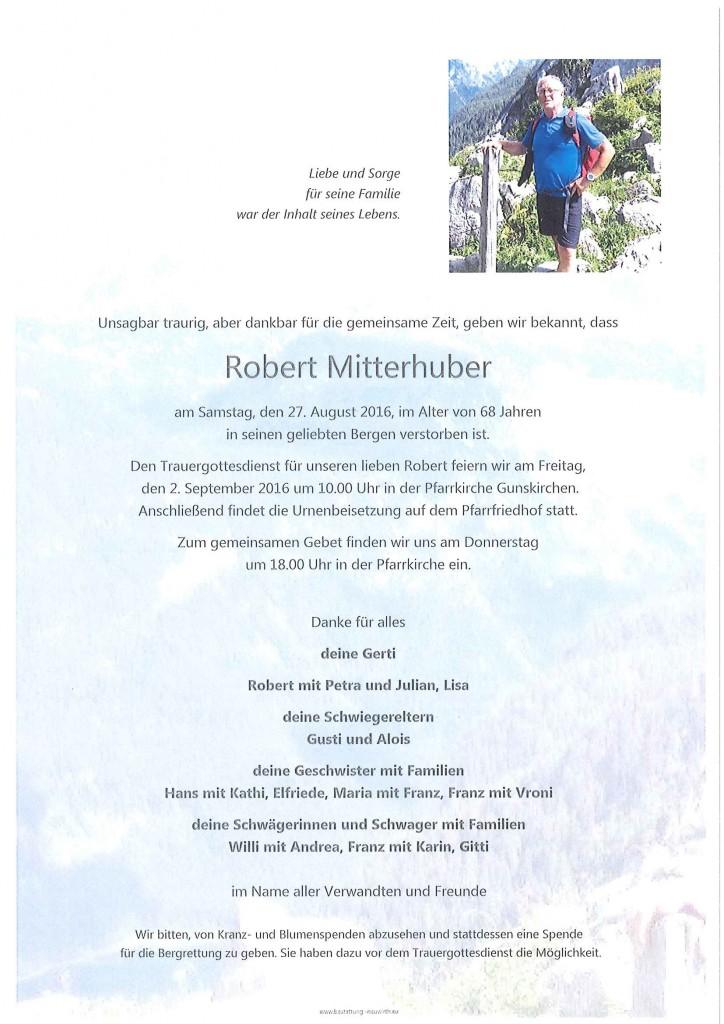 Robert Mitterhuber