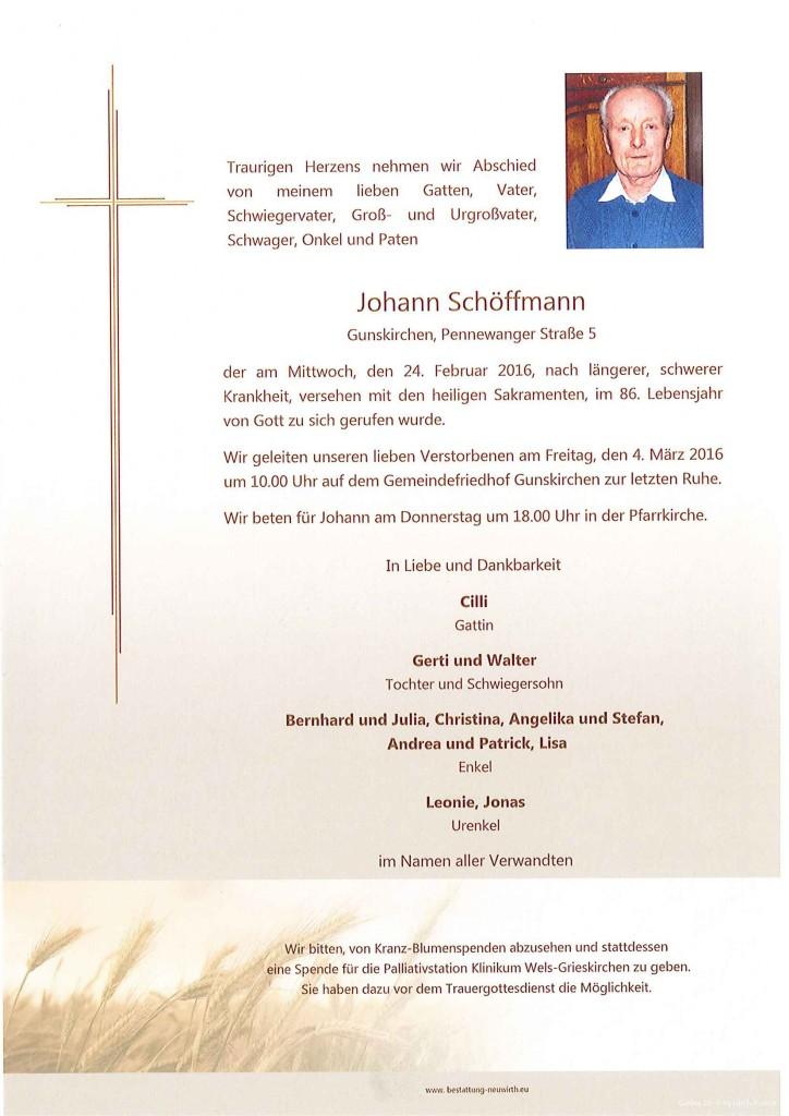 Schöffmann Johann