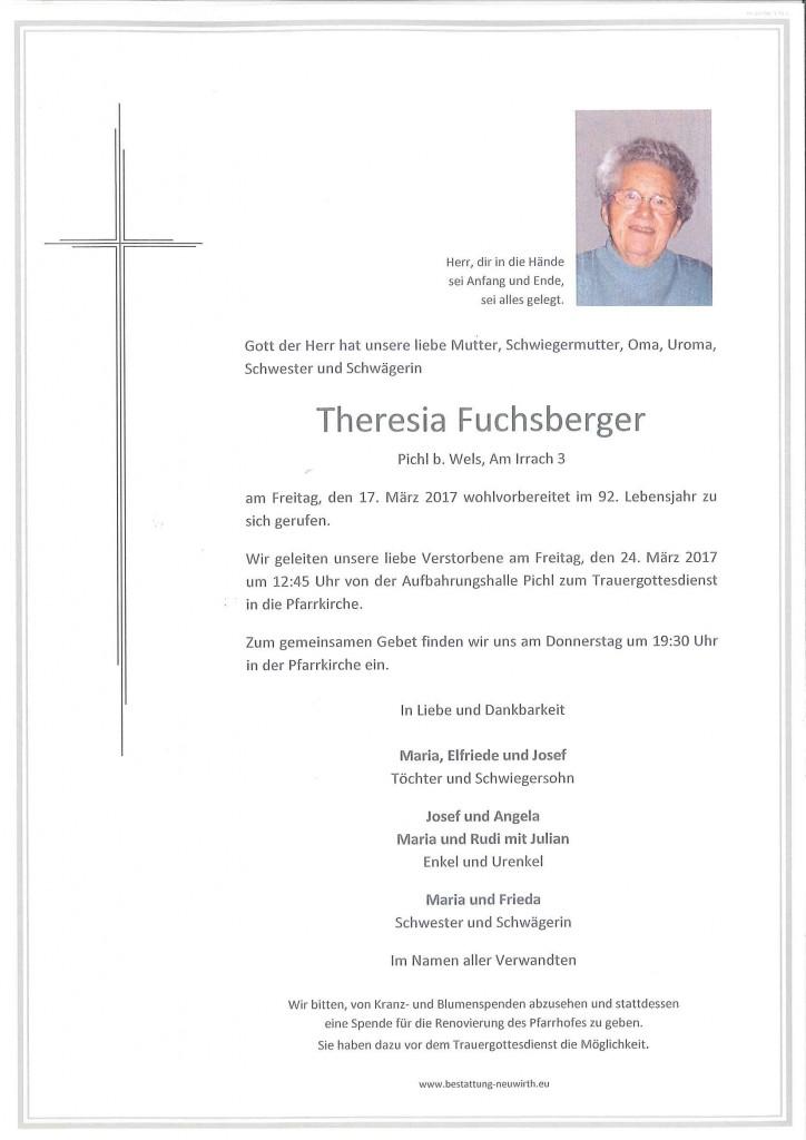 Theresia Fuchsberger